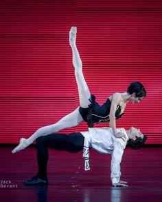 Polina Semionova and Roberto Bolle in Carmen. Photo by Jack Devant