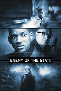 Poster Of Enemy of the State (1998) In Hindi English Dual Audio 300MB Compressed Small Size Pc Movie Free Download