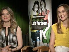 Gillian Jacobs and Leighton Meester Talk 'Life Partners' Gillian Jacob, Leighton Meester, Life Partners, Romantic, Actresses, Tops, Fashion, Female Actresses, Moda