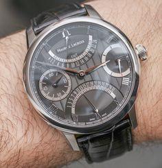Maurice LaCroix Masterpiece Double Retrograde & Moon Retrograde Watches