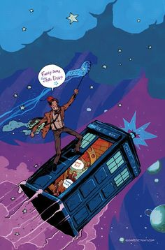 Doctor Who Art | Visual Bits #461 > In Need Of Comic Relief: Illustrations