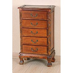 @Overstock - Add a touch of classical decor to your home with this lingerie chest  Traditional styling matched with modern construction makes this chest a true masterpiece  Vanity piece is an attractive element sure to complement any room in the househttp://www.overstock.com/Home-Garden/Carved-Wood-5-drawer-Lingerie-Chest/3678430/product.html?CID=214117 $225.99