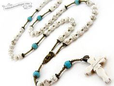Five Decade Magnesite Handmade Rosary    This Rosary is popular and designed by demand for both my male and female customers and is perfect for