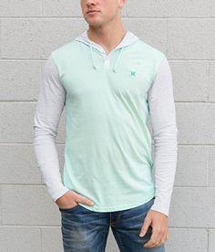Hurley Icon Henley Hoodie - Loyalty Event - Men's Hoodies/Sweatshirts | Buckle