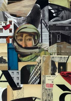 Collage and sketchbooks by Francesco Chiacchio Art Du Collage, Collage Illustration, Collage Artists, Mixed Media Collage, Digital Collage, Art Collages, Photomontage, Ap Studio Art, Assemblage Art