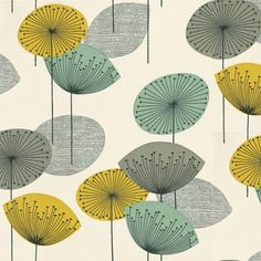DOPWDA104 Dandelion Clocks Sanderson Options 10 Wallpaper-- why are all the good papers euro??