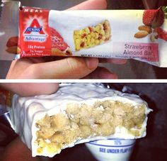 Try these delicious low carb Atkins bars. Great fr a quick breakfast or snack.