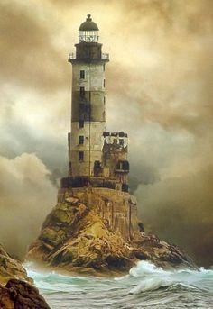 Aniva Lighthouse, Sakhalin-Russia.