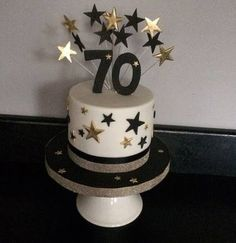 Exclusive Image of Birthday Cakes For Dad . Birthday Cakes For Dad Birthday Cakes Pink Cake Exceptional Images For Dad Ideas Mom for men Exclusive Image of Birthday Cakes For Dad 80th Birthday Cake For Men, 70th Birthday Decorations, 70th Birthday Parties, Birthday Cake Decorating, Birthday Cupcakes, 75th Birthday, Black And Gold Birthday Cake, Birthday Pins, Balloon Decorations