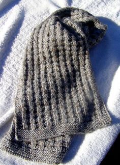 Fantastic Pic knitting scarf for men Concepts Waffle Scarf: Stash Couture from Simple Knitting Stitches Mens Scarf Knitting Pattern, Mens Knitted Scarf, Hand Knit Scarf, Easy Knitting Patterns, Knitting Stitches, Free Knitting, Lace Patterns, Scarf Patterns, Stitch Patterns