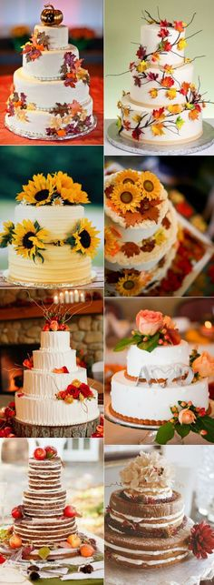 32 Amazing Wedding Cakes Perfect For Fall