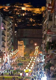 I can't believe this used to be my home...take me back! Navarinou St, Thessaloniki, Greece