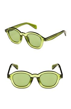 a10ab4c8c2 Céline 47mm Round Sunglasses at Nordstrom.com. A translucent frame adds of- the