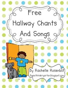 This book of adorable songs and chants will help your students line up correctly in a fun way. Just print, laminate and cut each page. Then hol...