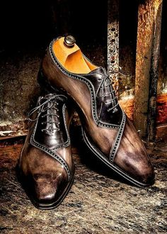 Love these   Black/brown brogues