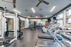 Get your sweat on in our newly renovated, state-of-the-art #fitness center. #TheSocial1600 #Amenities #FL #StudentLiving #Apartments