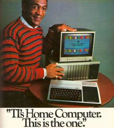 Bill Cosby for texas Instruments