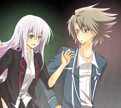 Misaki Tokura and Kai Toshiki  Cardfight Vanguard http://www.zerochan.net/1015292 (c) to owner
