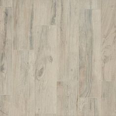 Hard Cream Wood Plank Floor Tile
