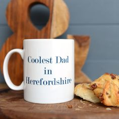A practical keepsake your dad will love, Personalised Mugs, Personalized Gifts, Dad Mug, Gifts For Dad, Dads, Cool Stuff, Dad Gifts, Customized Gifts, Fathers