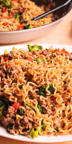 Ramen Dishes, Pasta Dishes, Food Dishes, Ramen Soup, Asian Cooking, Easy Cooking, Cooking Recipes, Healthy Ramen Noodles, Asian Recipes