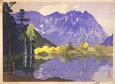 Hodakayama  by Hiroshi Yoshida, 1921