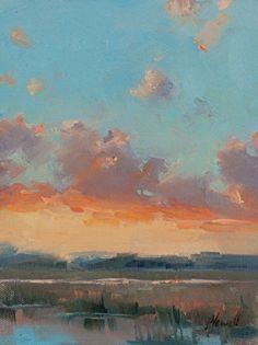 Glorious Study 6x8 by jacki newell Oil ~ 8 x 6