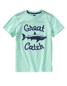 Great Catch Shark Tee at Crazy 8 (Crazy 8 4-14y)