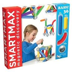 SmartMax Magnetic Discovery Basic 36: The large scale size of these toys make it great for kids with special needs to work on grasp and fine motor skills.