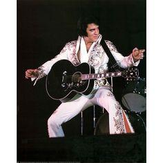 elvis presley movie posters   Elvis Presley Guitar Music Poster Print - 16x20
