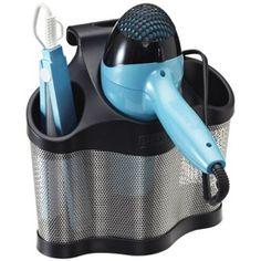 Storing hot straightener, hair dryer, curling iron, ...,