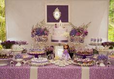 Festa da Princesa Sofia: para comemorar 4 anos de Catarina e 3 anos do blog!