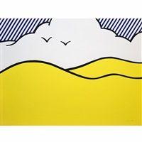 Landschaft by Roy Lichtenstein