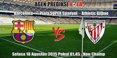 Prediksi Bola Barcelona vs Athletic Bilbao 18 Agustus 2015