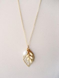 Wedding necklace for a beautiful forest bride