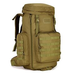 Hunting- Protector Plus Military Molle Backpack Rucksack Tactical Gear Bag…