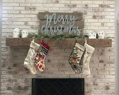 Items similar to Fireplace Mantel Rustic 6 Foot Hand Hewn Solid Pine Length Custom Made Solid on Etsy Floating Mantle, Rustic Mantel, Solid Pine, Fireplace Mantels, Easy Projects, Beams, Christmas Stockings, Etsy Seller, Merry