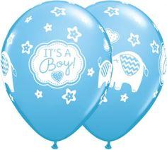 Blue its a boy elephants latex balloons http://www.wfdenny.co.uk/p/blue-its-a-boy-elephants-latex-balloon/5920/