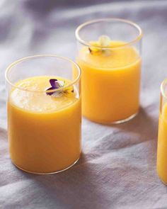 Tomato and Mango Gazpacho