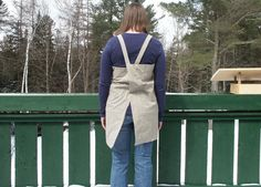 Happiness comes in little bits: Tutorial :: Simple Adult Pinafore / Tunic / Apron / Smock
