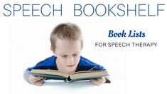 Books for Speech – Books for speech therapy