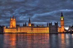 Parlamento inglês e Big Ben, Londres, Inglaterra