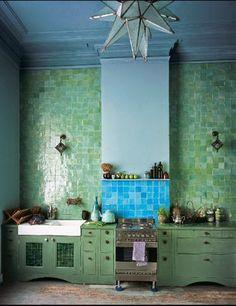 moroccan woods kitchen design moroccan kitchen design with woods . Kitchen Interior, Interior And Exterior, Kitchen Decor, Kitchen Tiles, Cosy Kitchen, Kitchen Oven, Decorating Kitchen, Design Kitchen, Küchen Design