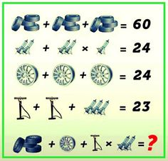 Solve the picture riddles