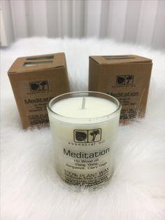 Meditaatio kynttilöitä luomaan rauhallista tunnelmaa