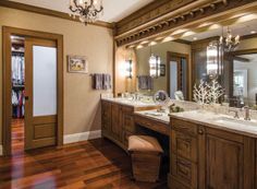 Tile Trends 2014   the custom cabinetry is done in a weathered grayish finish