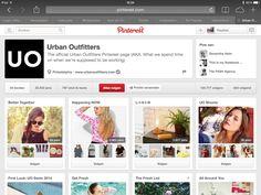 Hippe modeketen Urban Outfitters is ook te vinden op pinterest! http://www.pinterest.com/urbanoutfitters/