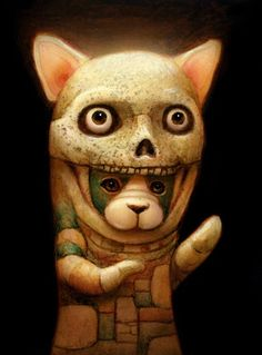 The Artwork of Naoto Hattori including paintings, miniature paintings, custom painting, illustrations, drawings, availavle paintings...