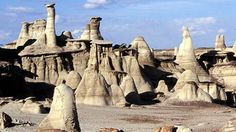 Bisti Badlands one of 12 Iconic New Mexico Landmarks that Will Take Your Breath Away