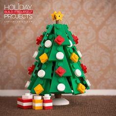 "Brilliant LEGO builder Chris McVeigh (aka ""Powerpig"") has created an awesome new series of custom built LEGO Christmas tree ornaments for the 2015 holiday season. McVeigh has ready-to-b…"